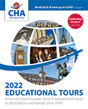 CHA Educational Tours Catalog